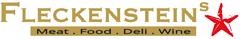 Fleckenstein's Meat. Food. Deli. Wine. Düsseldorf. Logo